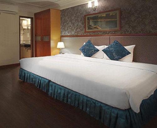 ホテルの大きいサイズのベッドの仕組みは?