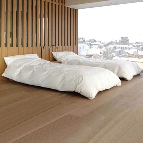 和室にマットレスやベッドを置いてホテルや旅館みたいな和洋室にする方法