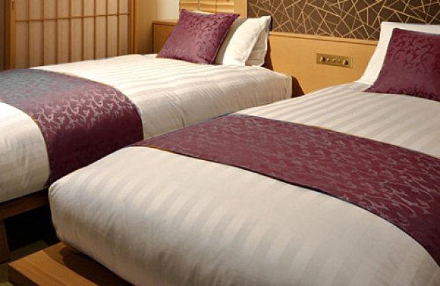 ホテルの寝具と、旅館の寝具は、どう違うの?