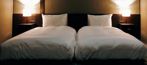 ホテルの寝具と、旅館の寝具は、どう違う?