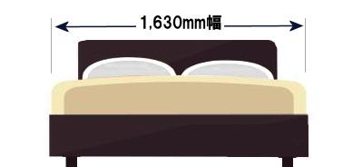 キングサイズより大きなベッドって購入できる?特注サイズの大きいマットレス