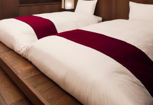 旅館にベッドがあると、どんなお部屋になる?ホテルだけじゃない、マットレスとベッドのスタイル